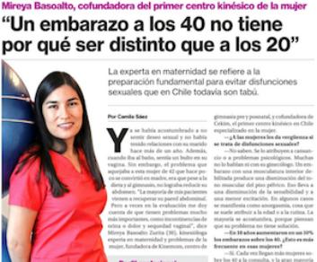 Entrevista a CEKIM por diario La Segunda